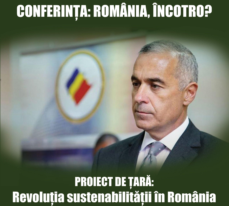 """Eveniment la Constanţa. """"România încotro? Revoluţia sustenabilităţii."""""""